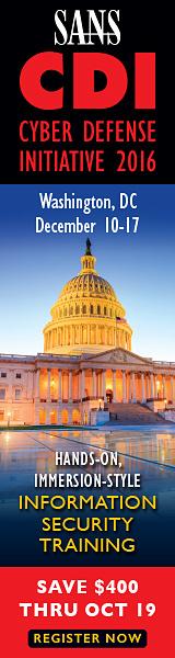 CDI 2016 - Washington