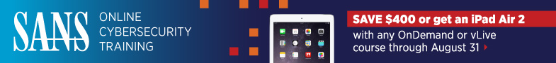 Get an iPad Air 2 with Online Training