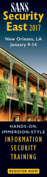 Security East 2017 - New Orleans