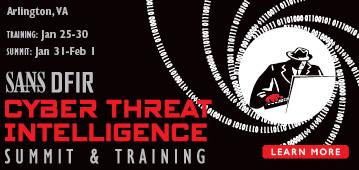 Cyber Threat Intelligence Summit - Arlington
