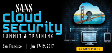 Cloud Security Summit - San Francisco