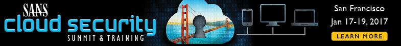 Cloud Security Summit - San Francisco