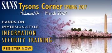 Tysons Corner Spring 2017 - McLean, VA