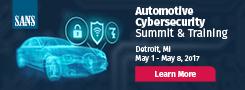 Automotive Cybersecurity Summit - Detroit