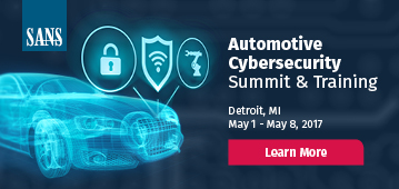 Automotive Cybersecurity Summit - Detroit