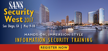 Security West 2017 - San Diego
