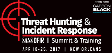 Threat Hunting and IR Summit - New Orleans