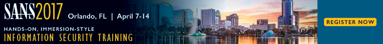 SANS 2017 - Orlando