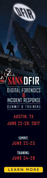DFIR Summit 2017 - Austin