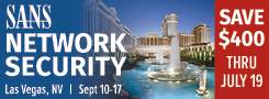 Network Security 2017 - Las Vegas