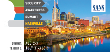 Security Awareness Summit - Nashville