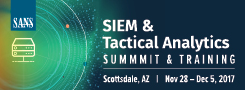 SIEM and Tactical Analytics Summit - Scottsdale