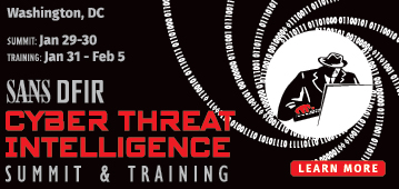Cyber Threat Intelligence Summit - Bethesda