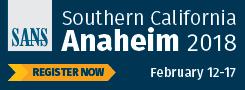 Southern California - Anaheim 2018