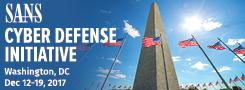 Cyber Defense Initiative 2017 - DC