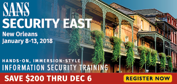 Security East 2018 - New Orleans