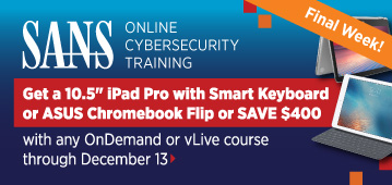 Get an iPad Pro with Smart Keyboard with Online Training Courses