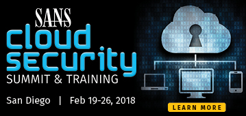 Cloud Security Summit and Training - San Diego
