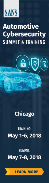 Automotive Cybersecurity Summit - Chicago