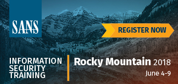 Rocky Mountain 2018 - Denver