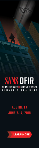 DFIR Summit and Training 2018 - Austin