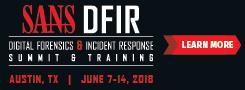 DFIR Summit and Training 2018 - Austin
