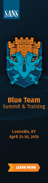 Blue Team Summit and Training 2018 - Louisville