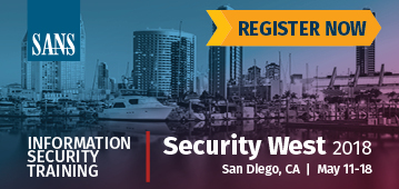 Security West 2018 - San Diego