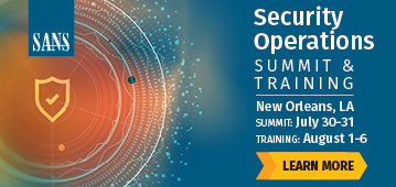 Security Operations Summit - New Orleans