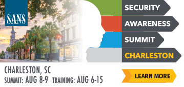 Security Awareness Summit - Charleston