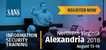 Northern Virginia - Alexandria 2018