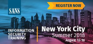 New York City Summer 2018