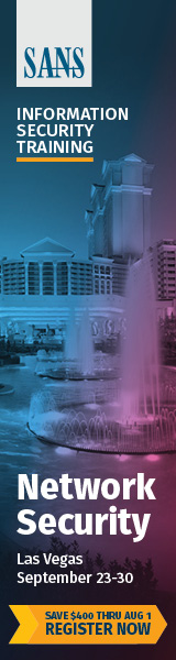 Network Security 2018 - Las Vegas