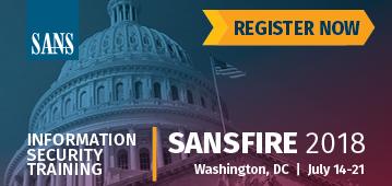 SANSFIRE 2018 - DC