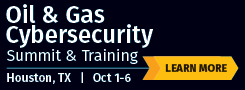 Oil and Gas Cybersecurity Summit