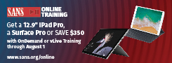 Get an iPad Pro with Online Training Courses