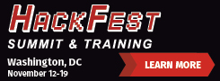 Pen Test HackFest Summit and Training 2018 - DC