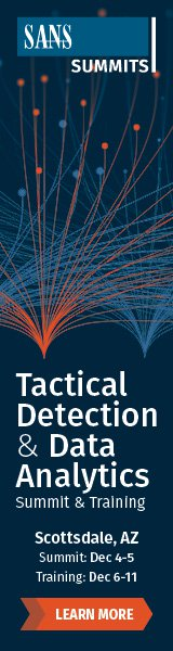 Tactical Detection Summit - Scottsdale