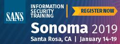 Sonoma 2019 - Santa Rosa