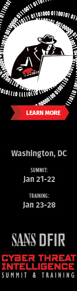 Cyber Threat Intelligence Summit 2019 - DC