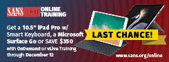 Get an iPad Pro including Smart Keyboard with Online Training Courses