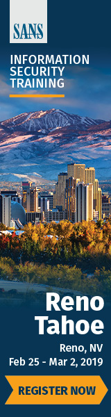 Reno Tahoe 2019
