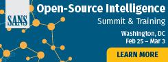 OSINT Summit 2019