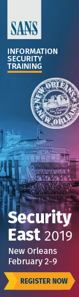 Security East 2019 - New Orleans