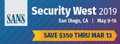 Security West 2019 - San Diego