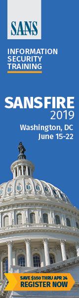 SANSFIRE 2019 - DC