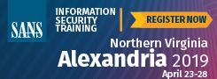 Northern Virginia - Alexandria 2019