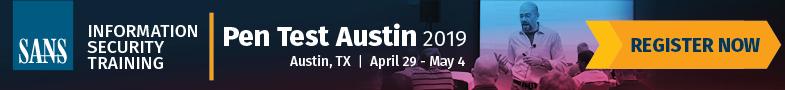 Pen Test Austin 2019