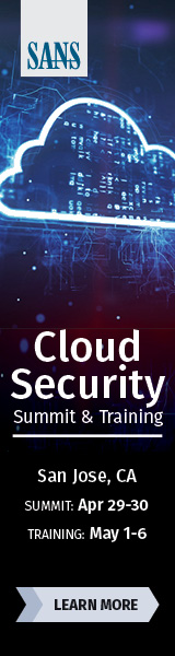 Cloud Security Summit and Training - San Jose