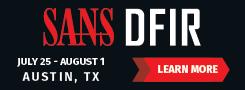 DFIR Summit 2019 - Austin